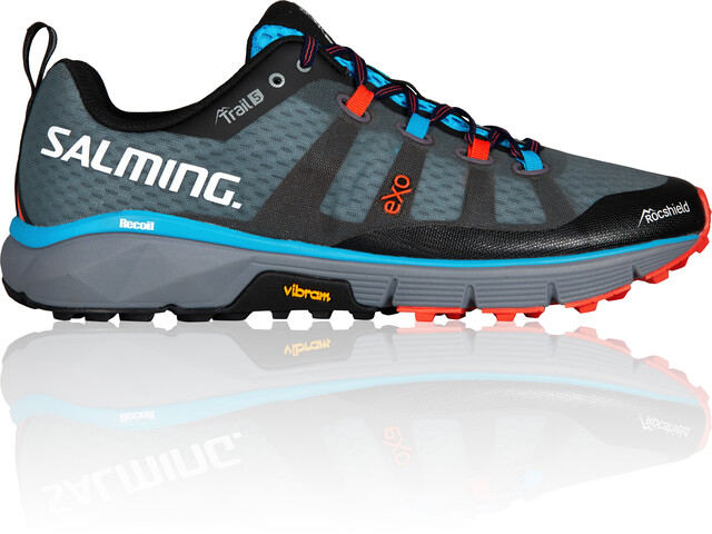 Salming Trail 5 Shoes Men Grey/Black